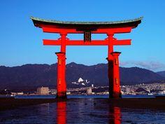 Itsukushima-Jinja Shinto Shrine in Hiroshima