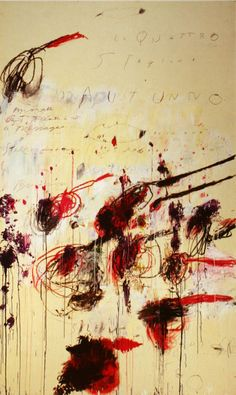 Cy Twombly Autumn