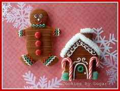 gingerbread cookie houses: a fast, easy, fun, less messy way to meet your holiday need to create gingerbread houses... and your friends and family will actually *eat* them!