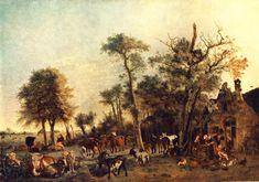 POTTER , Paulus Dutch Baroque Era (1625-1654)_The Farm 1649