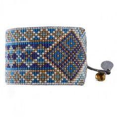 Design your own photo charms compatible with your pandora bracelets. Bracelet manchette MISHKY RAYS BLEU GRIS                                                                                                                                                                                 Plus