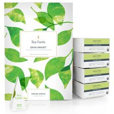 Tea Forté BULK PACK Swiss Apple Herbal Tea, 48 Handcrafted Pyramid Tea Infusers >>> You can find out more details at the link of the image. (This is an affiliate link) #Herbal