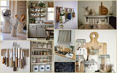 Jacoliene: Moodboard 'Kitchen' Tips en trics voor een landelijke, stoere keuken. Makkelijk te realiseren met (goedkope) accessoires en kleine ingrepen!
