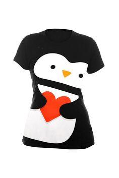 Want this! - Super Big Fun Penguin Girls T-Shirt Plus Size  $24.50