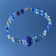 Indie Beaded Necklace   Etsy Beaded Necklace, Beaded Bracelets, Bead Jewelry, Turquoise Bracelet, Indie, Women Jewelry, Beads, Etsy, Beaded Collar