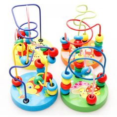 Cheap toys for kids, Buy Quality toys for baby directly from China baby toys Suppliers: Fun Toddler Baby Colorful Wooden Mini Around Beads Wire Maze Education Developing Interactive Montessori Kids Toys for Children Toddler Toys, Kids Toys, Dog Toys, Educational Toys For Toddlers, Baby Friends, Newborn Toys, Toys For Newborns, Wooden Baby Toys, Baby Rattle
