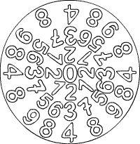 Zahlen-Mandala