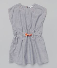 Love this French Connection Classic Navy Blouson Dress - Toddler & Girls by French Connection on #zulily! #zulilyfinds