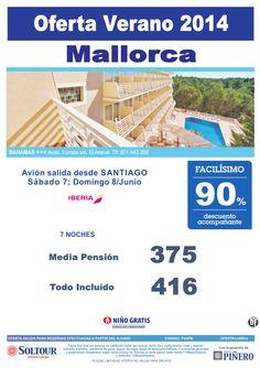 Mallorca: 90% hotel Bahamas salidas desde Santiago de Compostela ultimo minuto - http://zocotours.com/mallorca-90-hotel-bahamas-salidas-desde-santiago-de-compostela-ultimo-minuto/