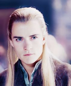 Legolas - Orlando Bloom Mwahahahaha! If only you knew how important he was to the development of my sarcastic nature :)