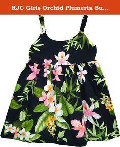 c5b6c4c5b RJC Baby Girls Paradise Grove Hawaiian Bungee Dress Black *** For more  information, visit image link.