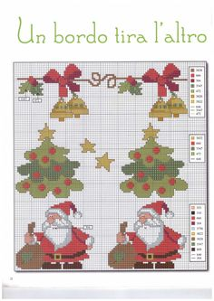Christmas Cross, Diy Christmas Ornaments, Xmas, Cross Stitch Charts, Hand Stitching, Pixel Art, Needlepoint, Kids Rugs, Embroidery