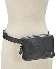 Calvin Klein Zip-Around Leather Fanny Pack | macys.com
