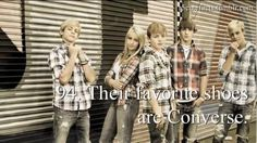 R5 Cute Facts, Mine too! Converse are so amazing that a kid decided to steal mine when I was changing at school. lol. I hope he or she enjoys them!