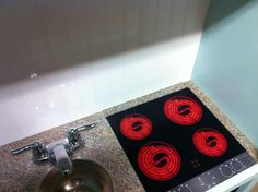 """diy play kitchen stove topplastic lid for """"range"""", cd's for"""