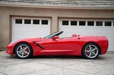 2014 Chevrolet Corvette Stingray Convertible - left side