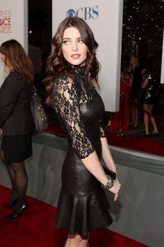 Ashley Greene in custom DKNY