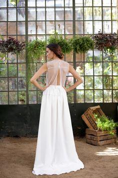 """www.mmarti.es/home """"un Romance en la Toscana"""" nueva colección novias AW 2015/2016  #martamarti #martamartiatelier #martamartinovias #atelier #bride #couture #barcelona #dress #weddingdress #gown #romanticweddingdress #love"""