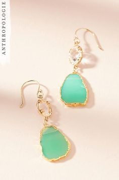 Reflection Drop Earrings | Shop Holiday gifts at Anthropologie