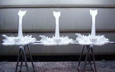 #Decorar #escaparates con botes de pintura