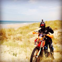 Sand #RedMule #Ktm525