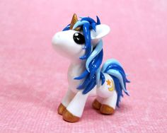 Custom Moon and Star Pony by DragonsAndBeasties on deviantART