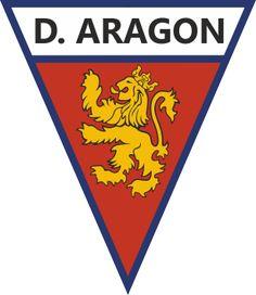 1958, Deportivo Aragón (Zaragoza, Aragon, España) #DeportivoAragón #Zaragoza #Aragon (L19679) Sports Logo, Soccer, Club, Deporte, Zaragoza, Sporty, Football Soccer, Hs Football, Futbol