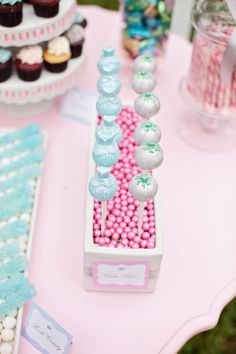 Cinderella Princess themed birthday party via Karas Party Ideas karaspartyideas.com #cinderella #princess #themed #party #disney #idea #cake #decor #ideas #shop #supplies (69)