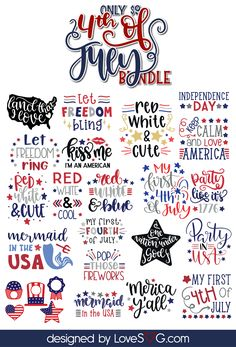 Fourth of July Svg perfect for Cricut Cricut Craft Room, Cricut Vinyl, Svg Files For Cricut, Monogram Frame, Monogram Fonts, Free Monogram, Fourth Of July Shirts, 4th Of July, Hand Lettering Quotes
