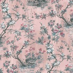 CHINOISERIE & ORIENTAL WALLPAPER – Woodchip & Magnolia