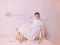 @Photography By Lora Lynne Christening Photography Christening Photography, Daytona Beach Florida, Professional Photography, Maternity Photography, Ballet Skirt, Wedding Dresses, Skirts, Fashion, Bride Dresses