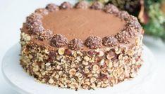 Κέικ με Nutella και Ferrero Rocher