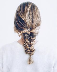 That feeling when your fishtail braid turns out perfectly. // Follow @ShopStyle on Instagram for more inspiration.