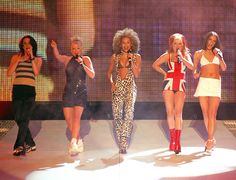 News - Entertainment, Music, Movies, Celebrity The Spice Girls, Girl Group Halloween Costumes, Punny Halloween Costumes, Best Celebrity Halloween Costumes, Girl Costumes, Spice Girls Songs, Spice Girls Outfits, Baby Spice Costume, Spice Girls Wannabe, Nineties Fashion