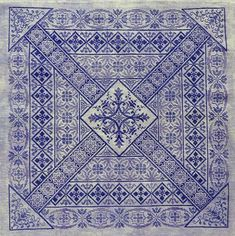 Shades of Indigo PDF Chart by Northern by NorthernExpressions1