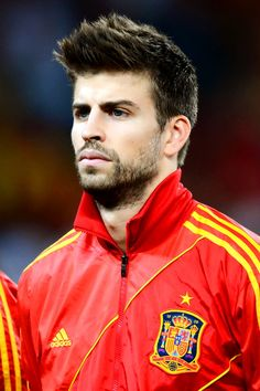 Gerard Pique. Lucky Shakira    Even though he plays for Barcelona -_-