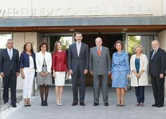 King Felipe, Queen Letizia, Former Queen Sofia and King Juan Carlos of Spain attend the 40th anniversary of Queen Sofia Foundation at Reina Sofia Alzheimer Foundation Center on May 22, 2017 in Madrid. The Queen Sofía Foundation is a joint foundation, a charity of a cultural, non-profit-making and permanent nature.