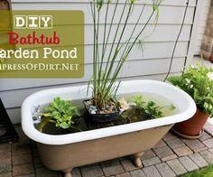 DIY-Bathtub-garden-pond-h2
