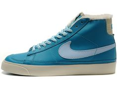 timeless design a1cf1 3985d New Nike Shoes Blazer Womens 2014 Leather Lake Blue Soecial Fur Winter Nike  Shoes 2014,