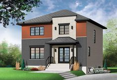 Détail du plan de Maison unifamiliale W3714