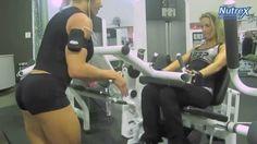 LARISSA REIS - LEG TRAINING FOR MUSCLE GROWTH - Female Bodybuilding Musc...