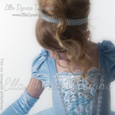 Tutu, Cinderella Costume, Silver Tiara, Blonde Model, Black Choker, Classic Style, Gloves, Costumes, Hair Styles