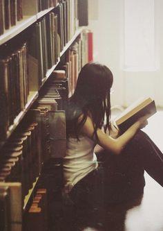 Grabbing a book...