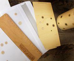 Laternen in Echtholz-Furnier zum Verschicken