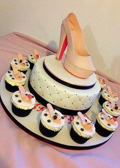 Christian laboutin cake