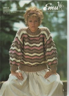 94bd9eb261fa1 Details about JAEGER   DK   FAIR ISLE SWEATER KNITTING PATTERN   6026