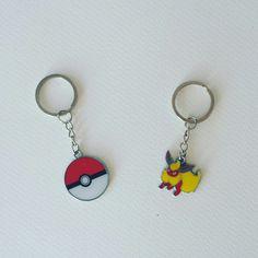 Flareon, I choose you!  Flareon Pokemon Metal Keyring $3.35 Pokemon Poke Ball Metal Keyring $3.25