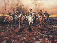 Of course there was only one real civil war-that between the Missouri Millitia, the Enrolled Missouri Militia and the Bushwhackers.