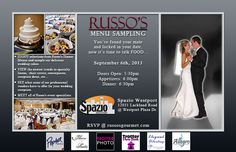 Russo's Catering | Weddings  Russo's Catering, St. Louis, Mo  314-427-6771  www.russosgourmet.com    Please mention that you found them thru Jevel Wedding Planning's Pinterest Account.    Keywords: #weddingcaterers #weddingreceptioncaterers #jevelweddingplanning Follow Us: www.jevelweddingplanning.com  www.facebook.com/jevelweddingplanning/