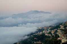 LEBANON, A BELT OF FOG